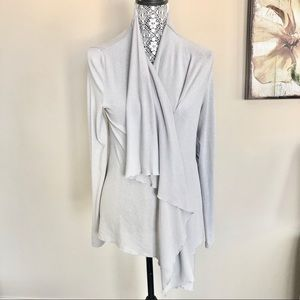 NWT Fabletics Andrea Shrug Draped Collar With Zip